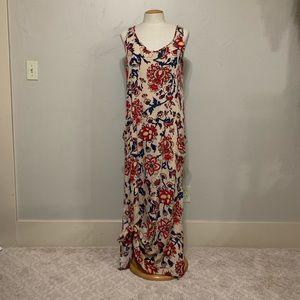 Tysa Designs Floral Print Long Dress Size 2/Med